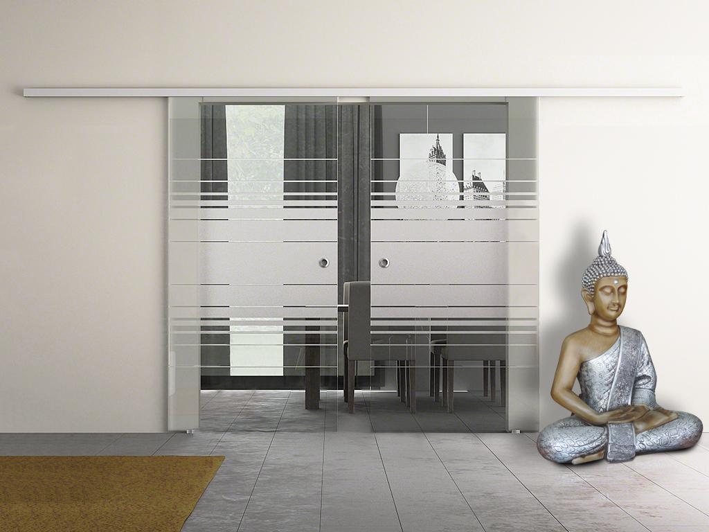 holz oder glasschiebet r home. Black Bedroom Furniture Sets. Home Design Ideas